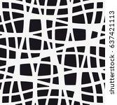 vector seamless pattern. modern ... | Shutterstock .eps vector #637421113