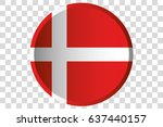 a 3d button of the flag of... | Shutterstock .eps vector #637440157