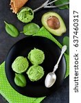 Ice Cream With Avocado  Spinac...