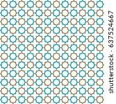 islamic pattern | Shutterstock .eps vector #637524667