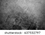 metal texture with scratches... | Shutterstock . vector #637532797