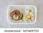 Bear And Bumble Bee Lunch Box ...
