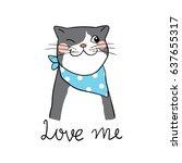 vector illustration character...   Shutterstock .eps vector #637655317