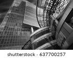 china  modern... | Shutterstock . vector #637700257