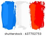 illustration of a flag of... | Shutterstock . vector #637702753