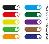 read more colorful button set | Shutterstock .eps vector #637711963