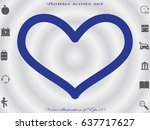 heart  icon  vector...