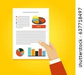 vector document icon | Shutterstock .eps vector #637718497