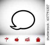 speech bubble icon  vector best ...