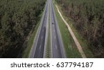 road view from above taken by... | Shutterstock . vector #637794187