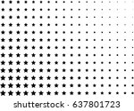 abstract halftone dotted... | Shutterstock .eps vector #637801723