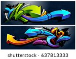 Two Horizontal Banners With...