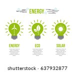 eco friendly related image  | Shutterstock .eps vector #637932877