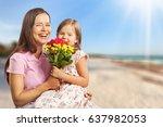mother. | Shutterstock . vector #637982053