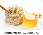 home spa skincare ingredients.... | Shutterstock . vector #638086273