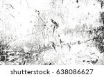 distressed overlay texture of... | Shutterstock .eps vector #638086627