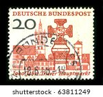 germany   circa 1988  a stamp...   Shutterstock . vector #63811249