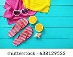 Summer Fun Time Accessories Blue - Fine Art prints