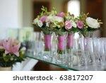 Bridesmaids bouquets for a...