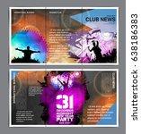 brochure layout | Shutterstock .eps vector #638186383