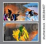 brochure layout | Shutterstock .eps vector #638186407