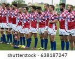 zagreb  croatia   april 29 ... | Shutterstock . vector #638187247