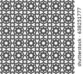 islamic pattern | Shutterstock .eps vector #638251777