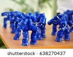 Robot Toys From Blue Mineral...
