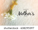 mother's day word concept with... | Shutterstock . vector #638295397