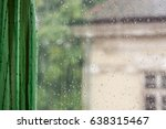 Raindrops On Window Glass ...