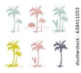 vector illustration of a hand... | Shutterstock .eps vector #638411053