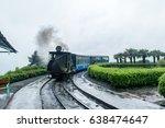 may 01 2017.the darjeeling... | Shutterstock . vector #638474647