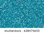 dark blue vector abstract... | Shutterstock .eps vector #638474653