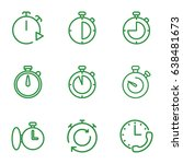 quick icons set. set of 9 quick ... | Shutterstock .eps vector #638481673