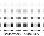 abstract halftone dotted... | Shutterstock .eps vector #638513377