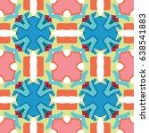 vector ornaments. abstract... | Shutterstock .eps vector #638541883
