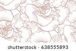 rose vector pattern
