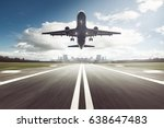 Small photo of Airplane Landing