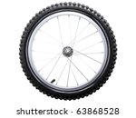 Sport Bicycle Tire And Spoke...