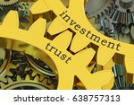 investment trust concept on the ... | Shutterstock . vector #638757313