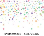 festive colorful flower... | Shutterstock .eps vector #638793307