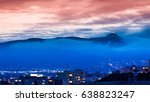 illuminated jested transmitter... | Shutterstock . vector #638823247