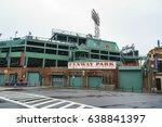 fenway park boston   home of... | Shutterstock . vector #638841397