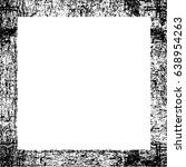 grunge black white square... | Shutterstock .eps vector #638954263