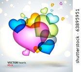 abstract vector background. | Shutterstock .eps vector #63895951
