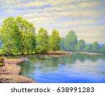 Oil Paintings Landscape River