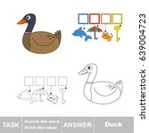 educational puzzle game for... | Shutterstock .eps vector #639004723