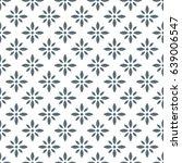 abstract grey flower pattern.... | Shutterstock .eps vector #639006547