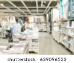 abstract blur shopping mall and ...   Shutterstock . vector #639096523