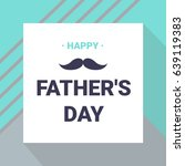 happy father's day greeting...   Shutterstock .eps vector #639119383